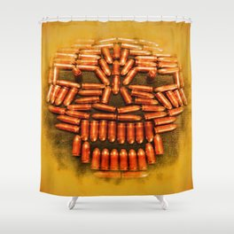 BULLETHEAD - 040 Shower Curtain