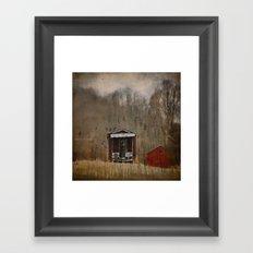 Less Is More Framed Art Print