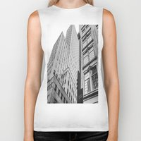 dallas Biker Tanks featuring Downtown Dallas by Sofleecori