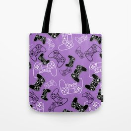 Video Games Lavender Tote Bag