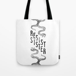 Resist Sister Tote Bag