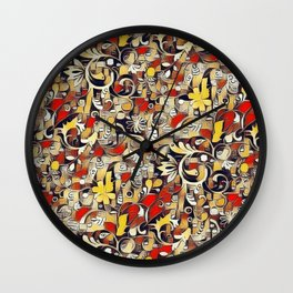 My Fantasy World 38 Wall Clock