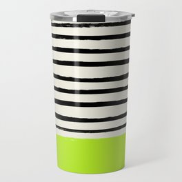 Electric Pineapple x Stripes Travel Mug