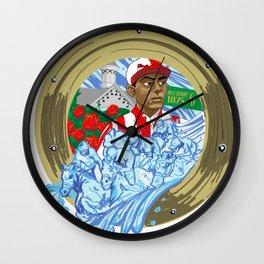 Issac Burns Murphy Wall Clock