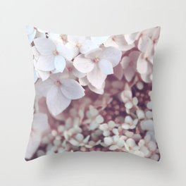 Flower photography by Olesia Misty Throw Pillow