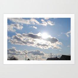 Beautiful Clouds Art Print