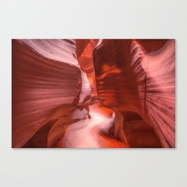 Path of Light - The Beauty of Antelope Canyon in Arizona Canvas Print