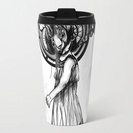 Rabbit Girl Travel Mug