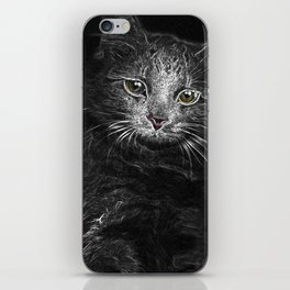 Lunar Essence of the Siberian Kitty Cat iPhone Skin