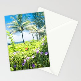 Ipomoea Keanae Morning Glory Maui Hawaii Stationery Cards