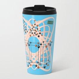 Retro molecular bonding with Mister Einstein Travel Mug