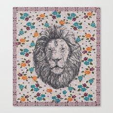 Lion Head 1 Canvas Print