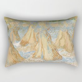 Sheaves of Wheat Rectangular Pillow