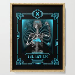 The Gamer X Tarot Card Serving Tray