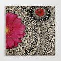 Flower Tangle by julieerindesigns
