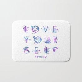 Kpop BTS: LOVE YOURSELF! Bath Mat
