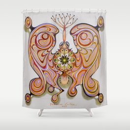 imperial butterfly Shower Curtain