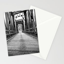Old Train Bridge Bath, NH Stationery Cards