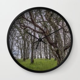 Madrone Forest Wall Clock