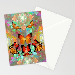 Big Blingy Starry Night Part II Stationery Cards
