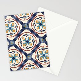 Beautiful Morocan decorative elements pattern Stationery Cards
