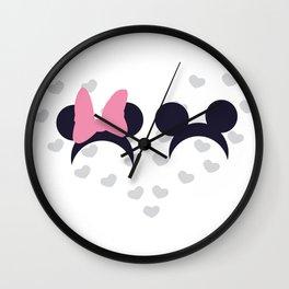 Mickey & Minnie Wall Clock