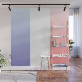 Flag of France -with color gradient Wall Mural