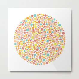 Color blind Metal Print