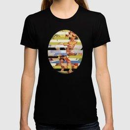 Glitch Pin-Up Redux: Farrah T-shirt