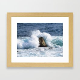Immovable Object Framed Art Print
