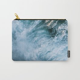 Wave in Ireland during sunset - Oceanscape Carry-All Pouch