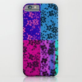 LACE COLLAGE iPhone Case
