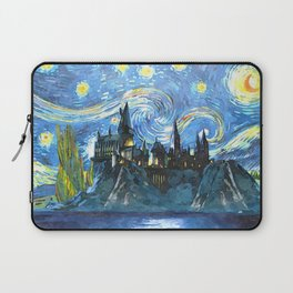 Starry Night(Hogwarts Castle) Laptop Sleeve
