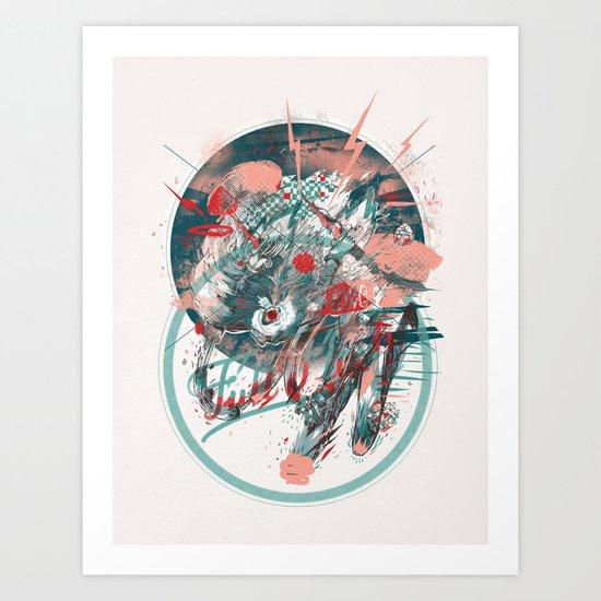 Fullflesh Art Print
