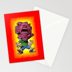 Not Enough Mouths To Scream It Out Stationery Cards