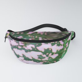 Green and pink leafed plant Fanny Pack