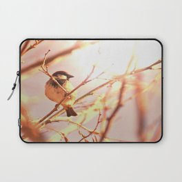 Morning sparrow Laptop Sleeve