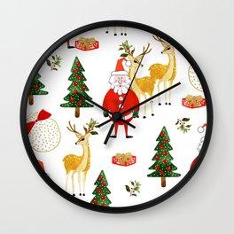 Always Christmas Wall Clock