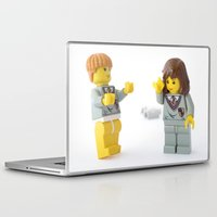 hermione Laptop & iPad Skins featuring Hermione... Where are my pants? by Tom Milton