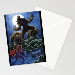 Red: The Werewolf Hunter Stationery Cards