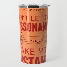 Spooky Scary Dissonance! — Music Snob Tip #439.5 Travel Mug