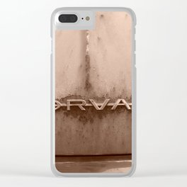 Rusty Corvair Clear iPhone Case