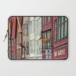 The heart of Bryggen Laptop Sleeve