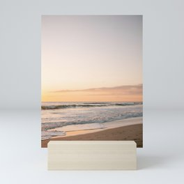 Playa Santa Teresa   Sunset travel fine art photography Costa Rica   Sea pastel tones Mini Art Print