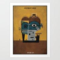 07_ARCREATURES-01 Art Print