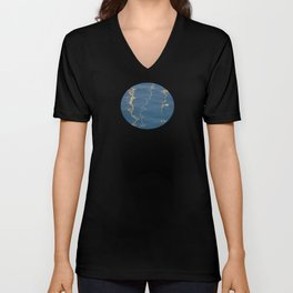 Abstract Sails Unisex V-Neck