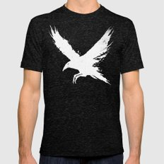 The Raven (Black Version) Tri-Black LARGE Mens Fitted Tee