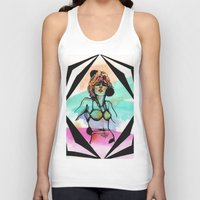 zappa Tank Tops featuring What are Words For (when no one listens anymore ) by Meagan Alwood Karcic