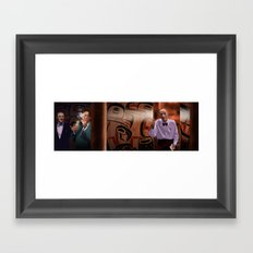 Interior The Great Northern Hotel Framed Art Print