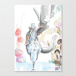 Thirsty Canvas Print